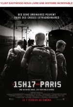 Le 15h17 pour Paris - Affiche