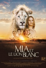 Mia et le Lion Blanc - Affiche