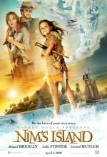 L'île de Nim - Affiche