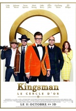 Kingsman  : Le Cercle d'or - Affiche