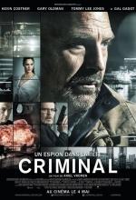 Affiche Criminal-Un espion dans la tête