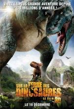 Affiche Sur la Terre des dinosaures-Le film 3D