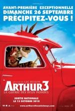 Affiche Arthur 3 et la guerre des deux mondes