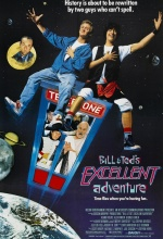Bill &Ted's excellent adventure - Affiche