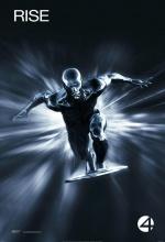 Les Quatre Fantastiques et Le Surfer d'Argent - Affiche