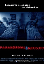 Affiche Paranormal Activity 3
