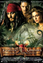 Affiche Pirates des Caraibes  : le Secret du Coffre Maudit