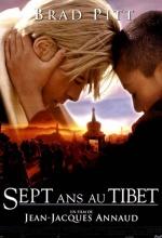 Sept ans au Tibet  - Affiche