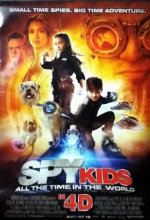 Spy Kids 4: All the Time in the World  - Affiche