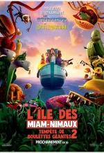 L'île des Miam-Nimaux : Tempête de boulettes géantes 2 - Affiche