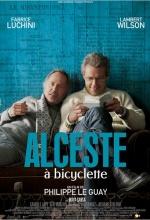 Affiche Alceste à bicyclette