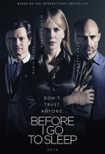 Before I Go to Sleep - Affiche