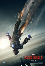 Affiche Teaser Iron Man 3 - Robert Downey Jr.