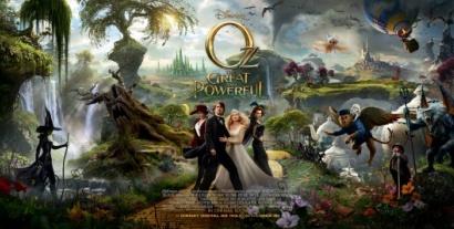 Nouvelle et superbe bande annonce du Monde fantastique d'Oz de Sam Raimi